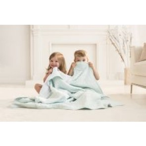 Metallic Skylight Classic Muslin Dream Blanket by Aden and Anais