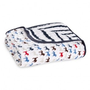 Wild Horses Classic Muslin Dream Blanket by Aden and Anais