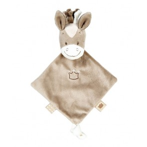 Max, Noa & Tom Collection - Mini Doudou Comforter Noa The Horse by Nattou