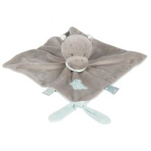 Loulou, Lea & Hippolyte - Doudou Comforter Hippolyte The Hippo by Nattou