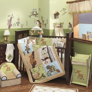 Enchanted Forest 6 Pcs Baby Bedding by Lambs & Ivy
