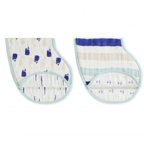 High Seas 2 Pack Classic Burpy Bibs by Aden and Anais