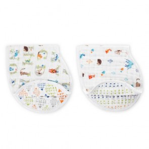 Paper Tales Classic 2 Pack Burpy Bibs by Aden and Anais