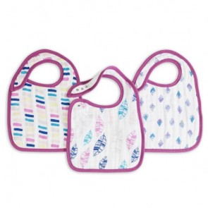 Wink 3-pack Classic Snap Bibs by Aden and Anais