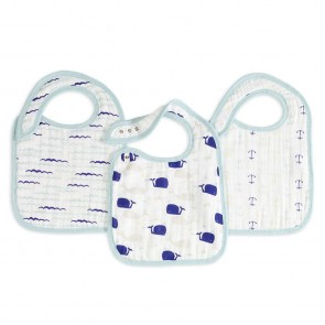 High Seas 3 Pack Classic Snap Bib by Aden and Anais