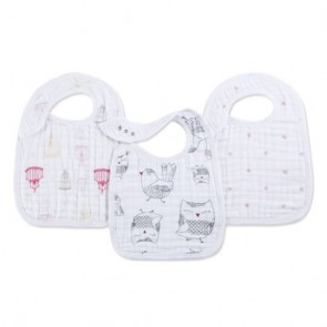 Lovebird 3-pack Classic Snap Bibs by Aden and Anais