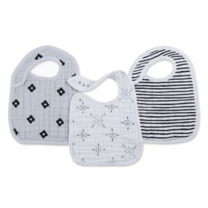 Lovestruck 3-pack Classic Snap Bibs by Aden and Anais