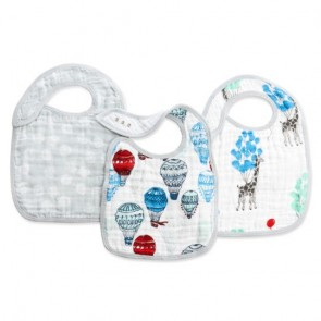 Dreamride 3-pack Classic Snap Bibs by Aden and Anais