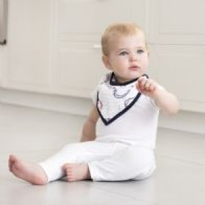 Wild Horses Classic Muslin Single Bandana Bib by Aden and Anais