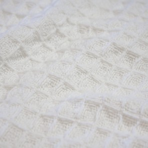 Cotton Waffle Blanket by Ardor