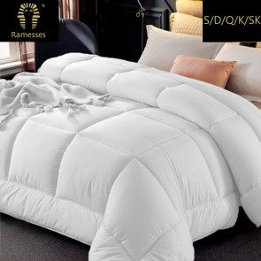 800gsm Ultra Soft Microfiber Down Quilt by Ramesses