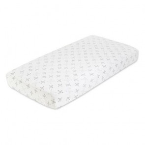 Lovestruck - Love Classic Muslin Fitted Single Cot Sheet By Aden And Anais