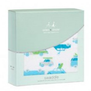 Chasing Waves Classic Single Swaddle By Aden and Anais
