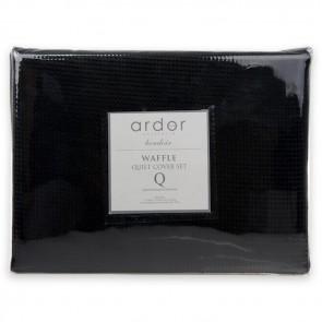 Boudoir Waffle Quilt Cover Set by Ardor