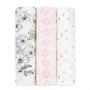 Meadowlark 3-Pack Silky Soft Swaddles by Aden and anais