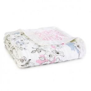 Meadowlark Silky Soft Bamboo Muslin Dream Blanket by Aden and Anais