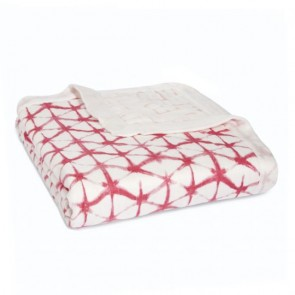 Berry Silky Soft Bamboo Muslin Dream Blanket by Aden and Anais