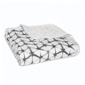 Pebble Silky Soft Bamboo Muslin Dream Blanket by Aden and Anais