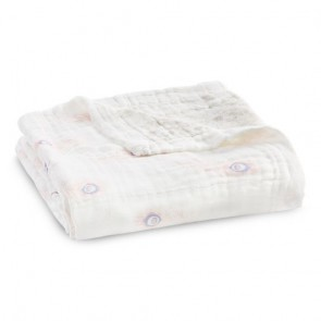 Featherlight Silky Soft Bamboo Muslin Dream Blanket by Aden and Anais