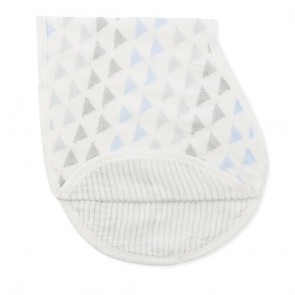 Metallic Blue Moon Birch Single Burpy Bib by Aden and Anais