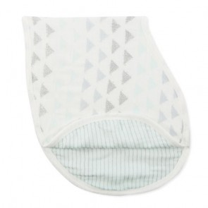 Metallic Skylight Birch Single Burpy Bib by Aden and Anais