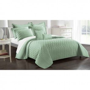 9 Piece Interlaced Vine Comforter Set