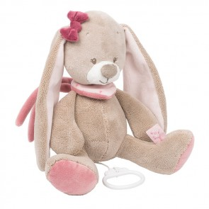 Nina, Jade & Lili Collection - Musical Nina The Rabbit by Nattou