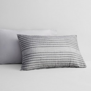 Ackland Frost Grey Standard Pillowcase Pair by Sheridan