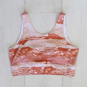 Active Crop Longline Neutral Animal Small by Escape To Paradise