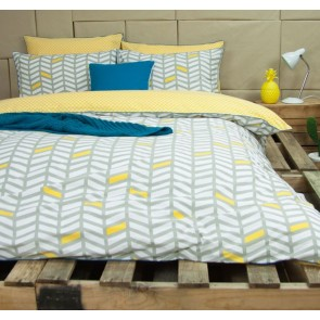 Banyan Grey Quilt Cover Set by Ardor