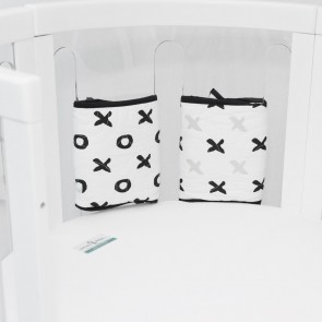 Organic Individual Bumper 2 Pack Tic Tac Toe by Babyhood