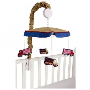 Under Construction Cot Mobile by Amani Bebe