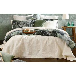 Ancara Bedspread Set Ivory by MM Linen