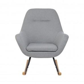 Anya Rocking Chair Grey by Babyrest