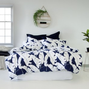 Tahiti Blue Quilt Cover Set by Apartmento