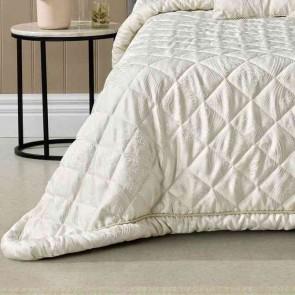 Arabella Bedspread Ivory by Bianca