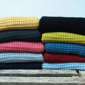 Acrylic Knitted Throw by Ardor