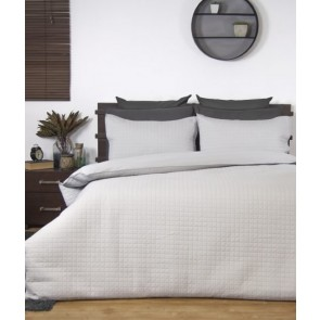 Box Quilted Quilt Cover Set by Ardor
