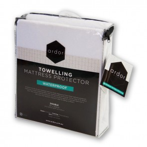 Waterproof Towelling King Single Mattress Protector by Ardor