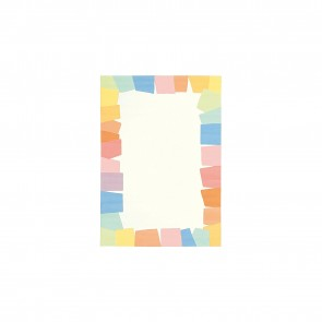 Joy Pastel Border Kids Rug by Arte Espina