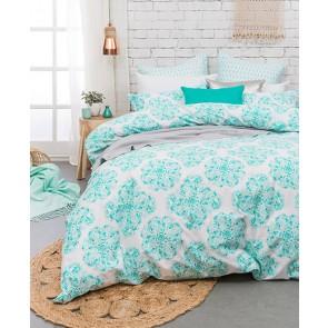 Ashleigh Queen Quilt Cover Set by Bambury