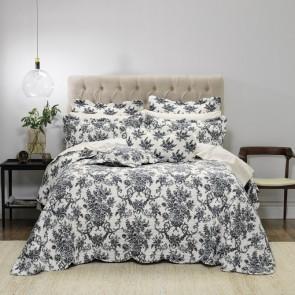 Ashton Black Bedspread Set by Bianca