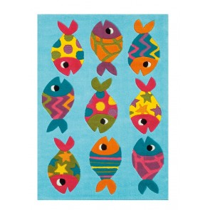 Fish Kids Rug by Arte Espina