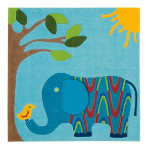 Elephant Kids Rug by Arte Espina