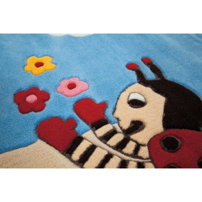 Bumble Bee Kids Rug by Arte Espina