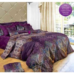 Aster Tree Quilt Cover Set by Fabric Fantastic