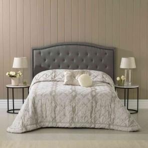 Aurora  Oyster Bedspread by Bianca