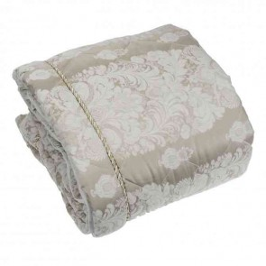 Aurora Oyster Double Bedspread by Bianca
