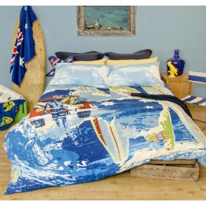Retro Home Australia Single Quilt Cover Set