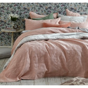Aviana King Bedcover Set Rose